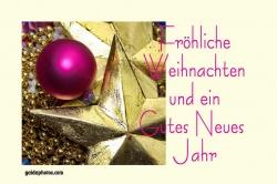 kostenlose fröhliche Weihnachten Karte