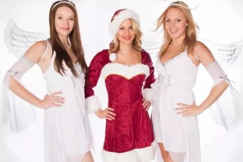 Hier können Sie ein Weihnachtskostüm ohne Darsteller ausleihen