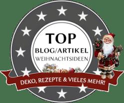 Badge Top Blog/Artikel Weihnachtsideen - weihnachtswelt365