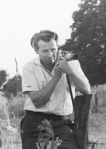 Agrarjournalist Wolfgang Schiffer um 1960, Foto: privat