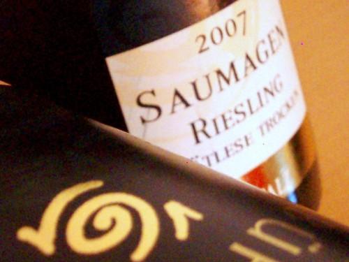 2007 Riesling Spätlese trocken Kallstadter Saumagen von Jens Bühler 2