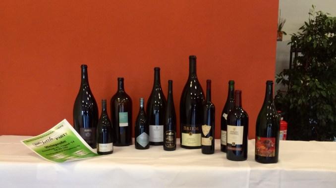 Big Bottles für das Breisacher Weinfest 2014