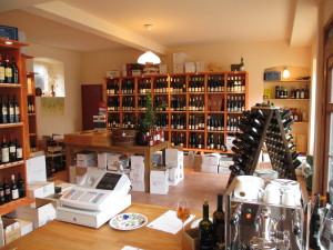 Weinladen Innen