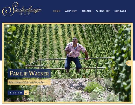 "Weingut ""Starkenburger Hof"" - Andreas Wagner -<br /> Starkenburger Hof 1 - 56843 Starkenburg"