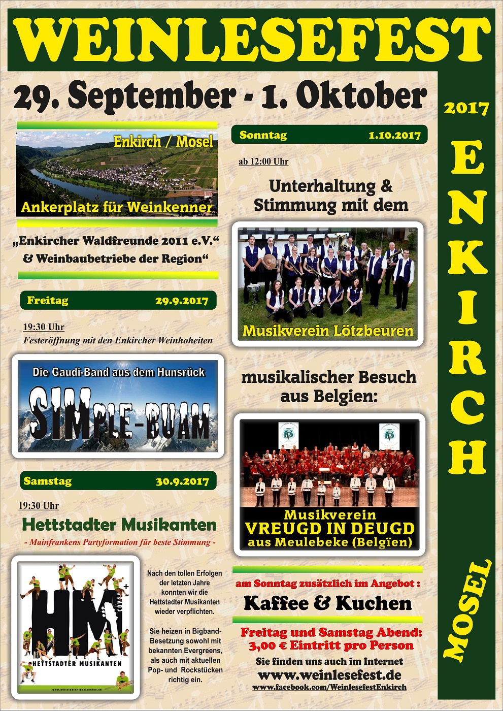 Weinlesefest 2017 in Enkirch / Mosel