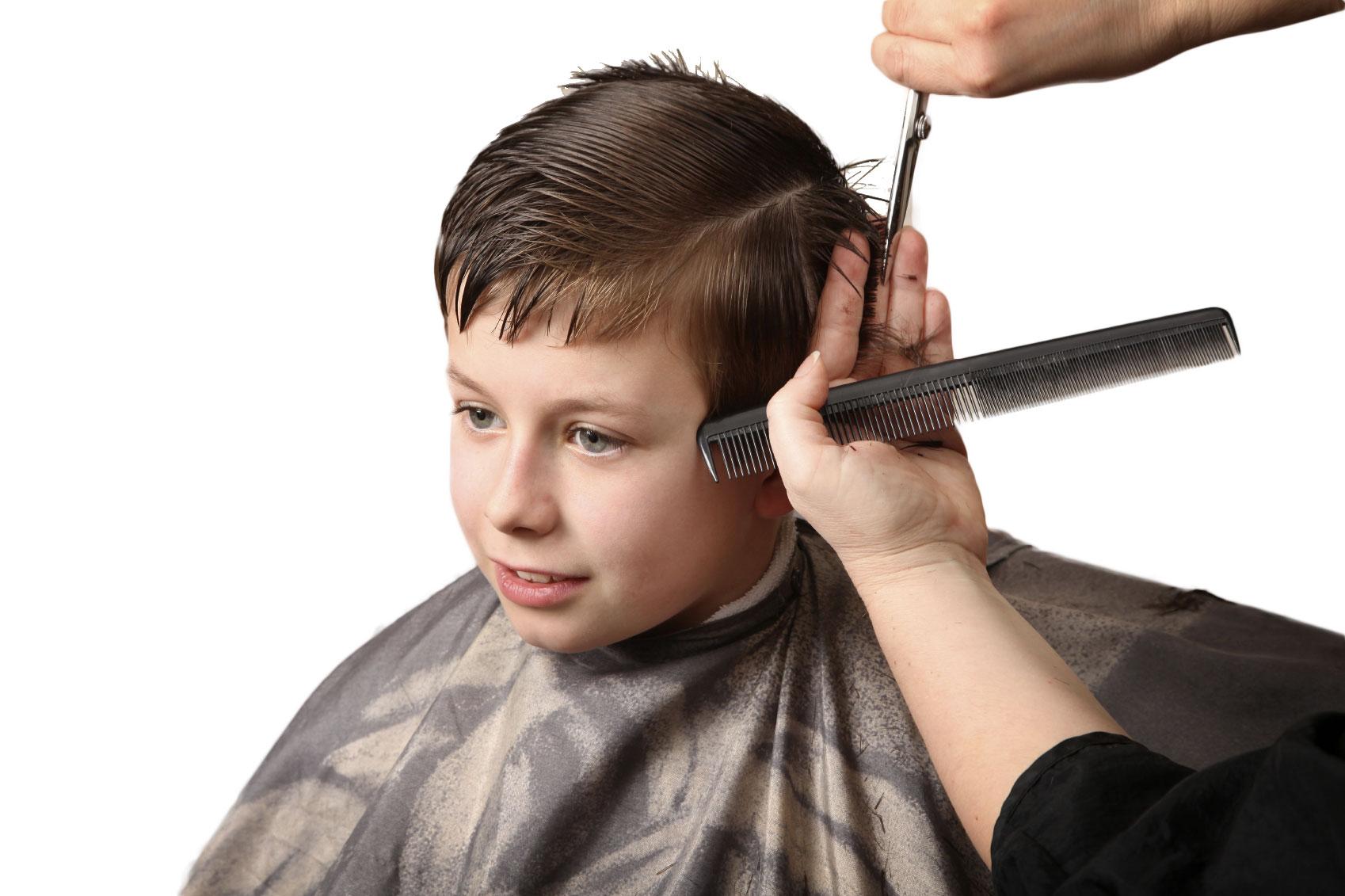 Young Boy Haircut