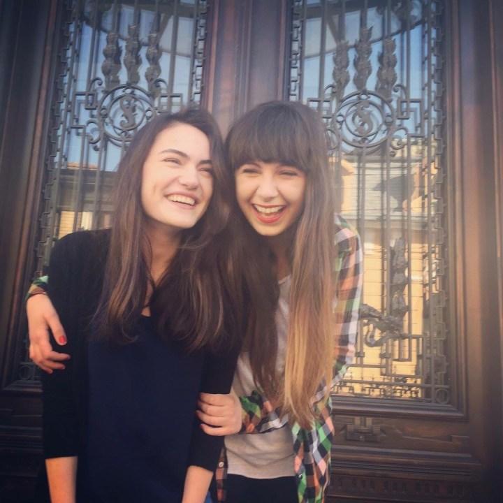 Raluca Enea & Adriana Luca - V8 Interactive