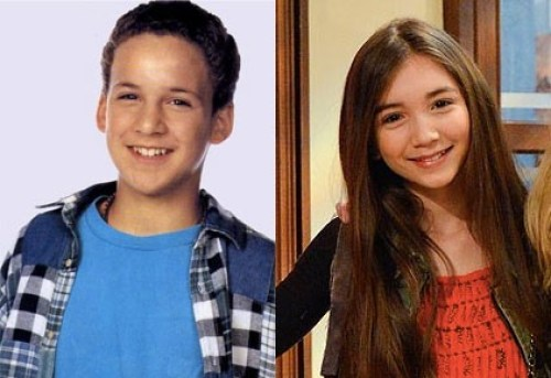 Cory from Boy Meets World; Riley from Girl Meets World