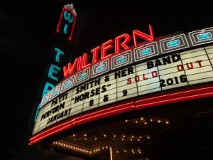 Patti Smith Live Sold Out