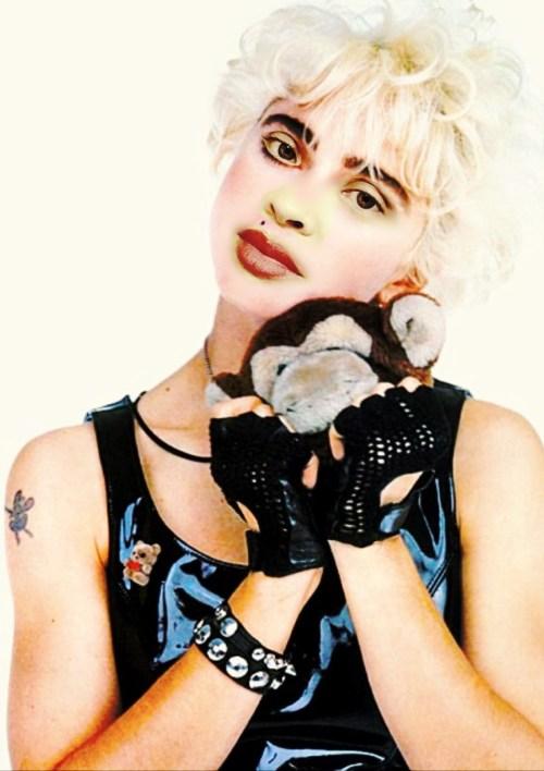 "Myriam Gurba Madonna self portrait from ""MEriam"""