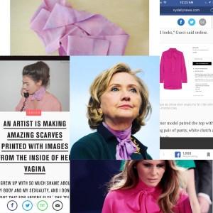 Hillary Melania pussybow