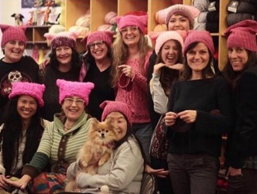 knitters, Pussyhat Project