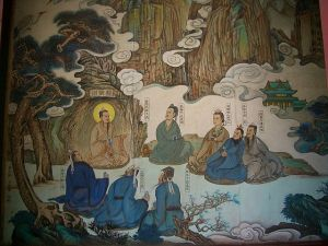 Chinese automatic writing disciples