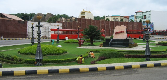 Ramoji Film City isn't the typical haunted location
