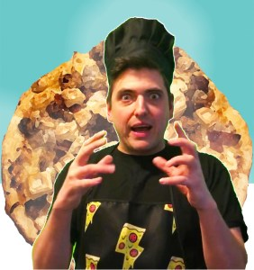 Papa Za weird wild pizza