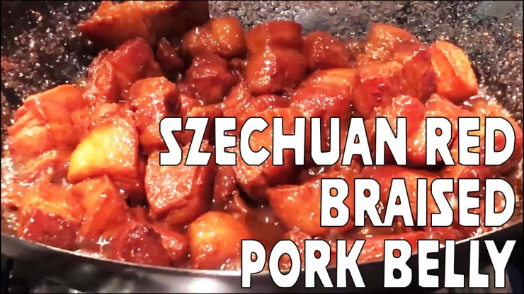 Szechuan Red Braised Pork Belly