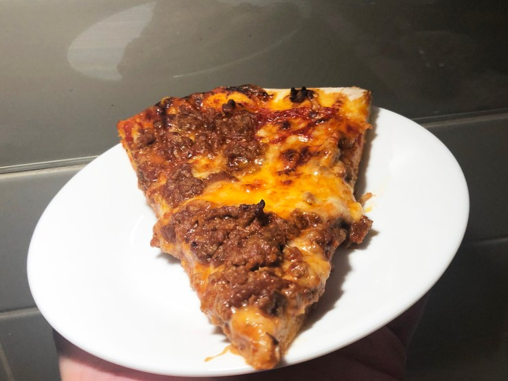 slice manwich sloppy joe pizza