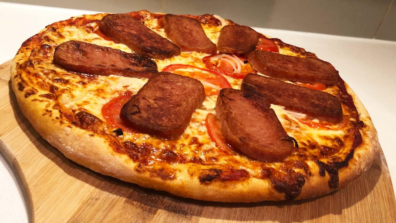 Classic Spam Pizza Recipe
