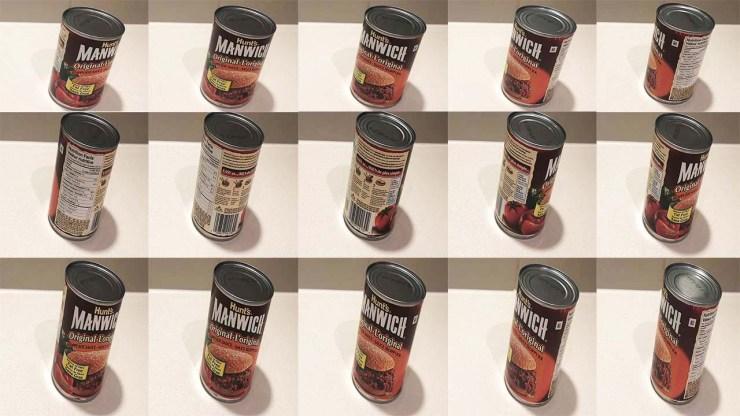 Manwich cans