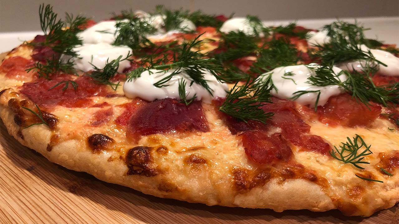 Borscht Pizza Instapot Recipe