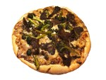 Beef and Broccoli Pizza