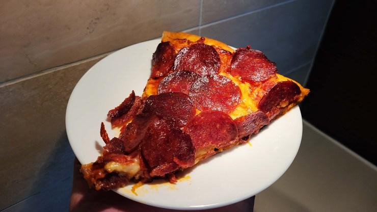100 pepperoni slice