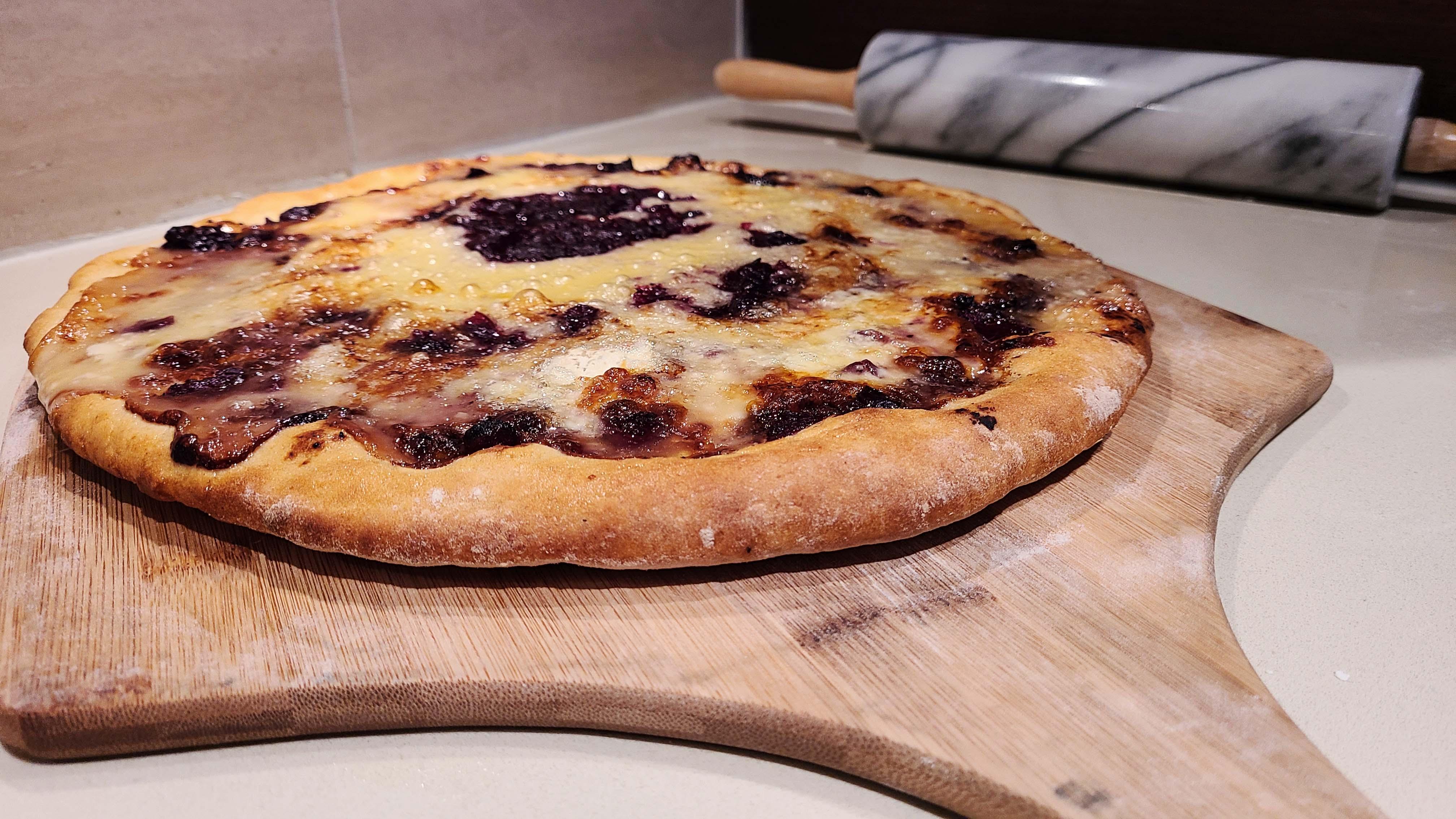 Brie Cranberry Pizza Recipe