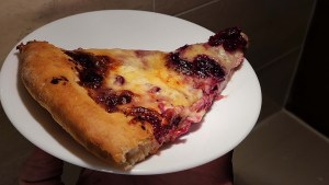 Brie Cranberry Pizza