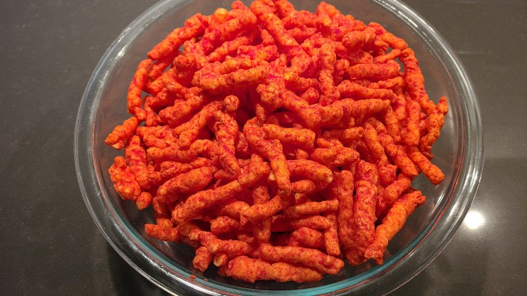 500 flamin' hot cheetos