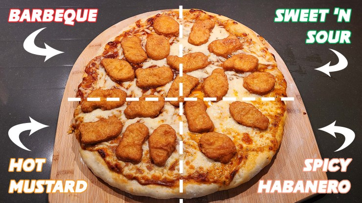 Chicken McNugget Pizza Recipe