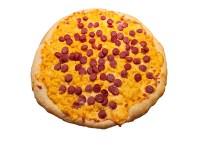 Hot Dog Macaroni and Cheese Pizza