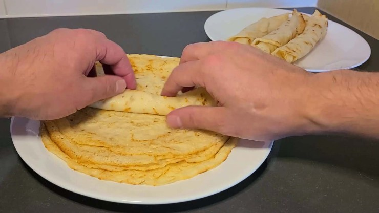 Sourdough crepe recipe