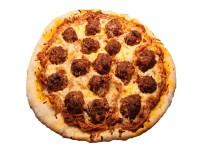 Spaghetti and Meatball Pizza Recipe