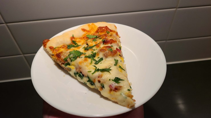 Chicken Carbonara with Bacon Pizza Recipe