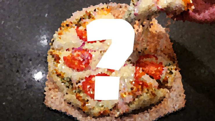 Mystery Pizza #58