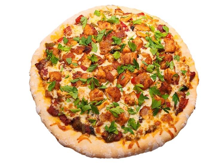 Chicken Cacciatore Pizza Recipe