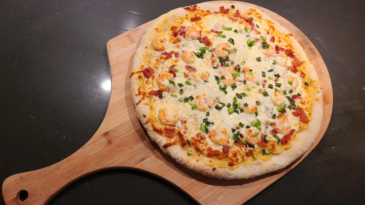 Shrimp and Grits Pizza Recipe