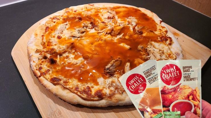 Swiss Chalet Chicken Pizza