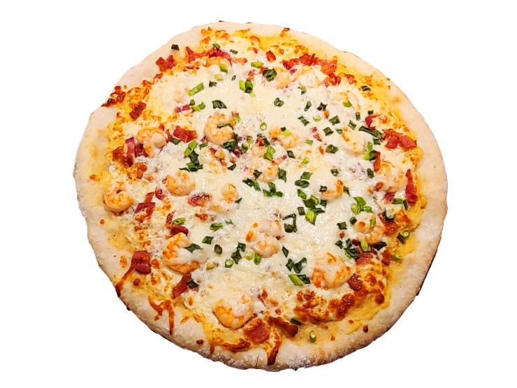 Shrimp and Grits Pizza