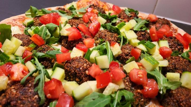 Falafel Pizza Recipe