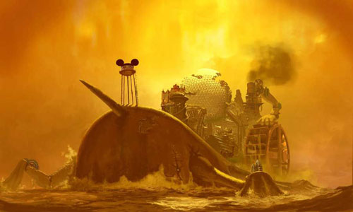 Steam-punk Willie. (Epic Mickey) A Mickey Mouse game that's not for kids