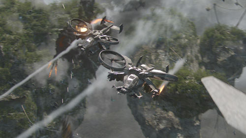 avatar two gun ships