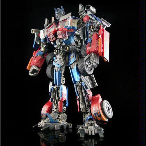 Transformers Optimus Prime custom movie version