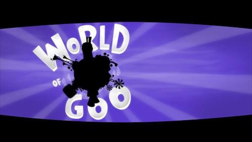 World of Goo menu