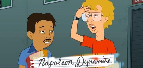 Dynamite Set to Explode Onto TV. Napoleon Dynamite That Is.