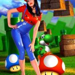 Who's The Sexiest Game Character? Mario-Inspired Latex Bodysuit may change your mind