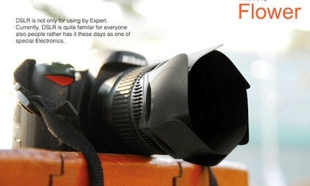Hoodcap Flower – The Fastest Lens Cap in the West/East… Maybe.