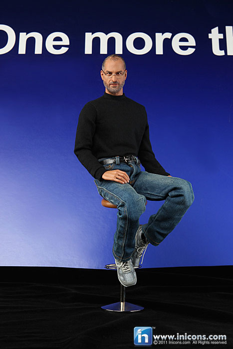 Steve Jobs Toy/Action Figure/ Doll Thing - Sitting