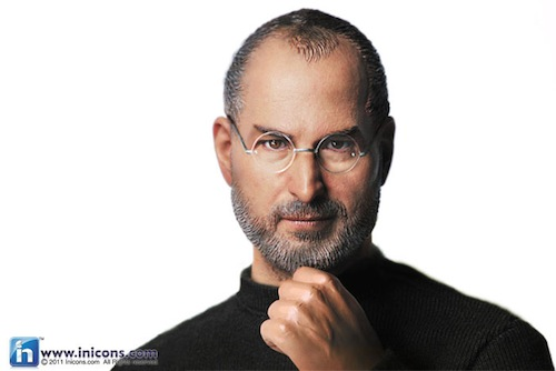The Steve Jobs Doll… Action Figure? Plastic Wrongness?