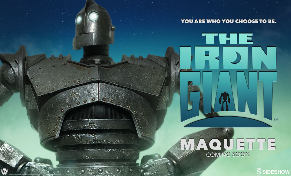 Iron Giant Statue From Sideshow Toys - I'm In Love